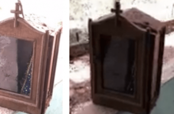 Image of Our Lady is found intact in Brumadinho's mud sea
